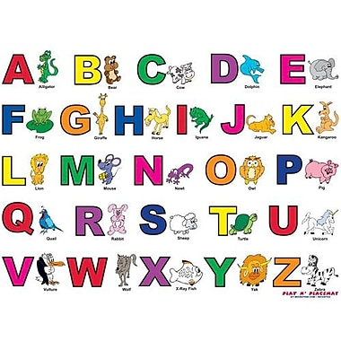 Magic Slice Alphabet Play Placemat