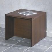 OSP Furniture Napa End Table; Mahogany