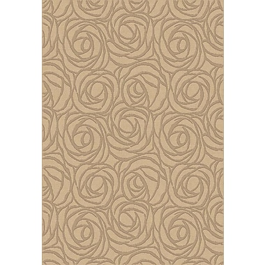 Dynamic Rugs Eclipse Creme Rosebuds Area Rug; 5'3'' x 7'7''
