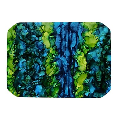 KESS InHouse Drop Placemat; Green