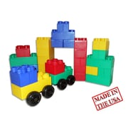 Serec Entertainment Jumbo Blocks 40 Piece Big City Playset