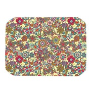 KESS InHouse My Butterflies and Flowers Placemat; Yellow