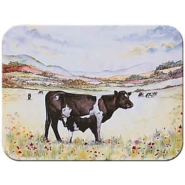 McGowan Tuftop Cow and Calf Cutting Board; Small (9''x12'')