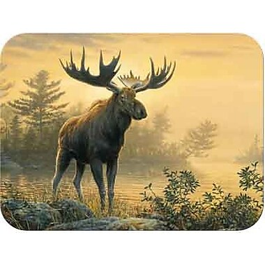 McGowan Tuftop Northwoods Moose Cutting Board; Small (9''x12'')