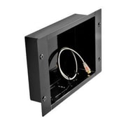 Peerless-AV In-Wall Metal Box; Gloss Black