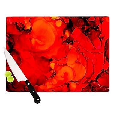 KESS InHouse Family Photos II Cutting Board; 11.5'' H x 15.75'' W x 0.15'' D