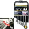 Titan Wrench Set Combo Sae Ratcheting 7Pc