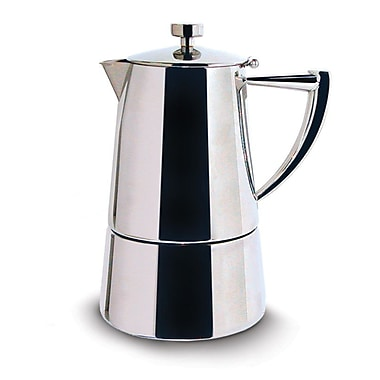 Cuisinox Roma Espresso Coffee Maker; 10 cup