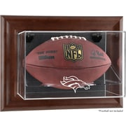 Mounted Memories NFL Wall Mounted Logo Football Case; Denver Broncos