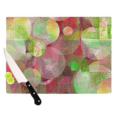 KESS InHouse Dream Place Cutting Board; 11.5'' H x 15.75'' W