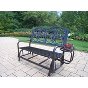 Oakland Living Lakeville Iron Garden Bench