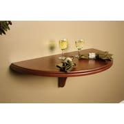 American Heritage Chicago Wall Table; Suede