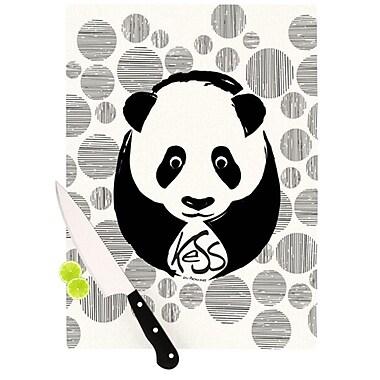 KESS InHouse Panda Cutting Board; 11.5'' H x 8.25'' W x 0.25'' D