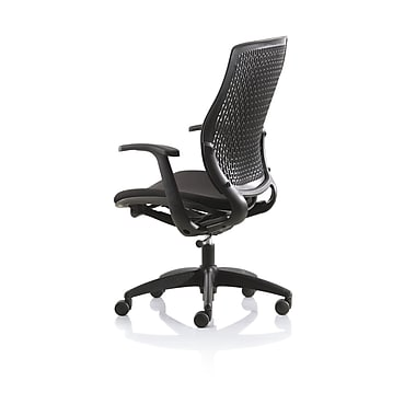 New Spec Conference Elastic Conference Chair; Black
