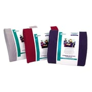 Essential Medical Lumbar Cushion with strap; Black