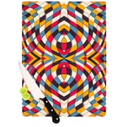KESS InHouse Stained Glass Cutting Board; 11.5'' H x 8.25'' W x 0.25'' D