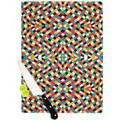 KESS InHouse Retro Grade Cutting Board; 11.5'' H x 15.75'' W x 0.15'' D