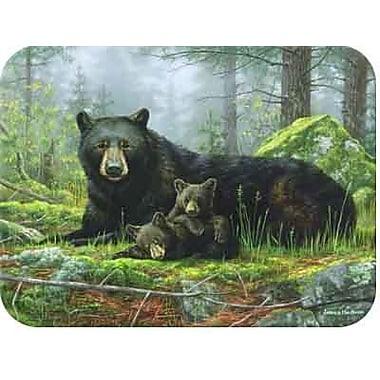 McGowan Tuftop Black Bears Cutting Board; Small (9''x12'')