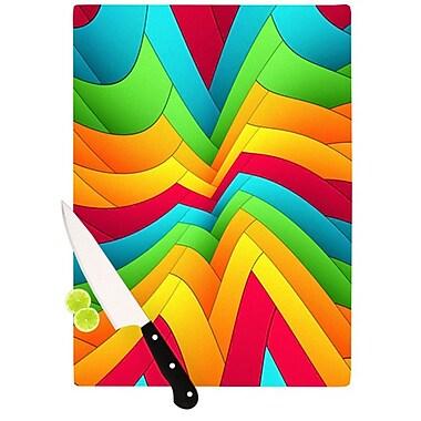 KESS InHouse Olympia Cutting Board; 11.5'' H x 8.25'' W x 0.25'' D