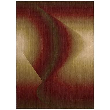 Nourison Radiant Arts Ruby Rug; 3'6'' x 5'6''