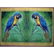 Betsy Drake Interiors Macaw Placemat (Set of 4)