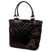 Little Earth MLB Sport Noir Quilted Tote Bag; Colorado Rockies