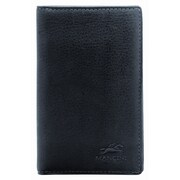 Mancini San Diego Deluxe Credit Card Case; Black