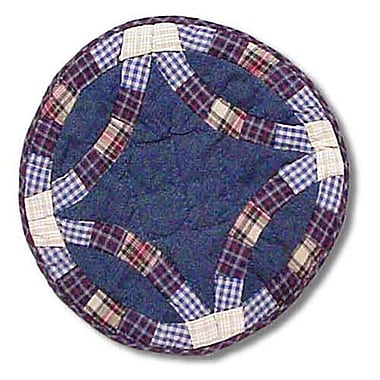 Patch Magic Blue Double Wedding Ring Placemat