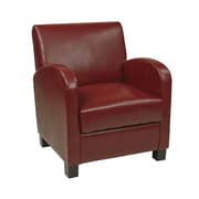 Office Star Eco Leather Club Chair; Cream