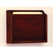 Wooden Mallet HIPPAA Compliant Chart Holder; Dark Red Mahogany