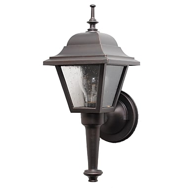 Melissa Kiss Series 1 Light Outdoor Sconce Old Iron Staples
