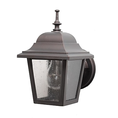 Melissa Kiss Series 1 Light Outdoor Wall Lantern; White