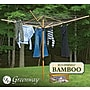 Greenway Deluxe Bamboo Fold Away Clothesline