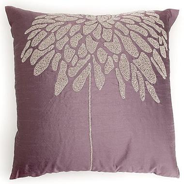 Debage Inc. Coral Tree Throw Pillow; Plum