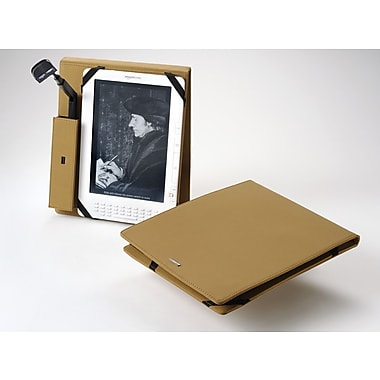 Periscope  Cover+Light Flip for Kindle DX; Camel