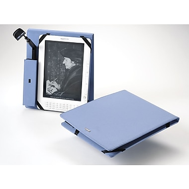 Periscope  Cover+Light Flip for Kindle DX; Steel Blue