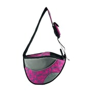 OneForPets Messenger Bag Pet Carrier; Pink