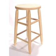 Dixie Seating Lincoln 30'' Bar Stool; Unfinished