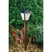 Dabmar Lighting 1 Light Post Lantern Path / Walkway / Area Light; Antique Bronze