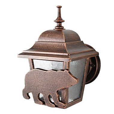 Melissa Americana 1-Light Outdoor Sconce; Architectural Bronze