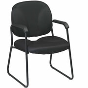 Office Star Work Smart Visitors Chair; Navy