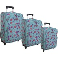 McBrine Luggage 3 Piece Luggage Set; Aqua