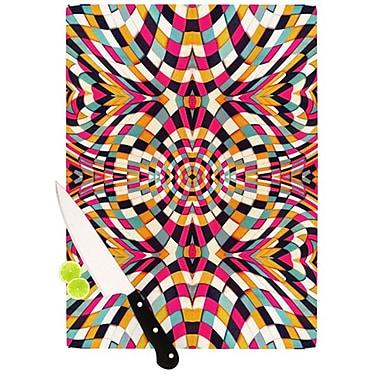 KESS InHouse Rebel Ya Cutting Board; 11.5'' H x 8.25'' W x 0.25'' D