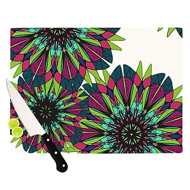 KESS InHouse Bright Cutting Board; 11.5'' H x 15.75'' W x 0.25'' D