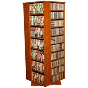 Venture Horizon VHZ Entertainment 1600 CD Molded Multimedia Revolving Tower; Cherry
