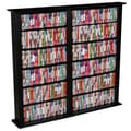 Venture Horizon VHZ Entertainment Regular Double Multimedia Storage Rack; Black