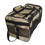 Best Pet Supplies Oxford Duffel Pet Carrier; Khaki