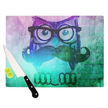 KESS InHouse Showly Cutting Board; 11.5'' H x 8.25'' W x 0.25'' D