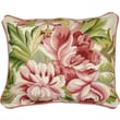 123 Creations Magnolia Needlepoint Pillow; Pink