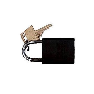 Morris Products Master Key Padlocks; Black